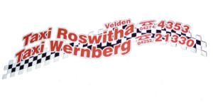 Logo Taxi Roswitha