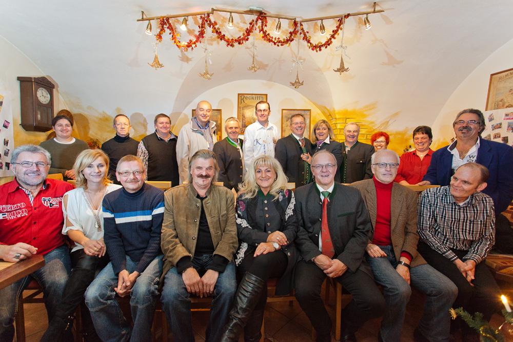 Weihnachtsfeier 2014 und Werners 60er